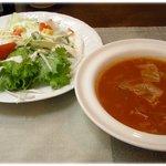 2518586 - サラダ&スープ(日替わり)