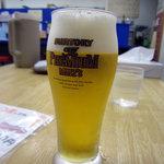 来来亭 - 生ビール小 300円