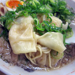 来来亭 - ワンタン麺 750円