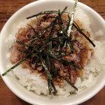 陣山ラーメン - チャーシュー丼(小)