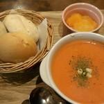 オーガニックスープ・コロンボ - 本日のランチ~お別れにきました(´._.`)