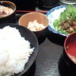 Maguroryourikibun - ネギトロ定食 1600円