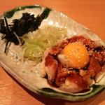 八剣伝 - 純和赤鶏 ユッケ(タレ)