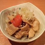 八剣伝 - とり皮湯引きポン酢