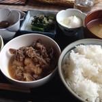 星野屋 - 日替わり定食700円