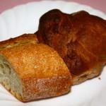 シェフ・ド・フランス - パンは焼きたてで美味しい