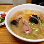 松沢屋 - 半中華丼(セットメニュー)