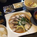 こめ蔵 - 生サバ炙り定食 700円 メニューに入ってる時は、必ず食べます♪