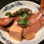 こめ蔵 - コース料理 ハナカサゴの煮付け