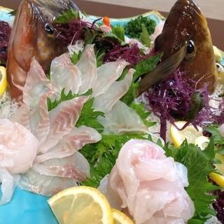 漁師直送の新鮮なお魚をご堪能いただけます☆
