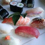 寿し味処 和多栄 - 寿司定食&和多栄寿司定食の寿司内容アップ