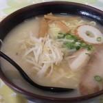 味太郎 - ラーメン大盛り(600円)