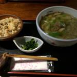 五条 - 鶏南定食〜鶏めし付〜