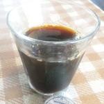 ヒュッテベルク福冶店 - おかわりのコーヒー