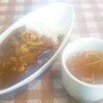 ヒュッテベルク福冶店 - おかわり無料の ライス、カレー、スープ
