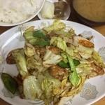 中華料理 喜楽 - 回鍋肉定食