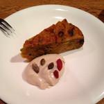 グリーン アース - かぼちゃのケーキ