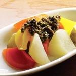 スペインバルエルソル - 野菜のピクルス 自家製