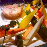 ショットバー アクアリューム - 色彩り野菜スティック 900円