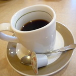 あかずきん - ドリンクはコーヒーチョイス…普通に