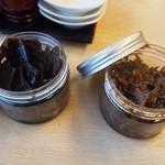 釜揚うどん一紀 - 料理写真:出汁を取った昆布と鰹の佃煮