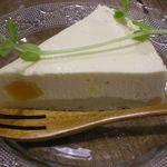 玄米食堂 ie - 2014.3 アプリコットの半生チーズケーキ