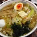 ラーメン あたみ  - 野菜ラーメン650円