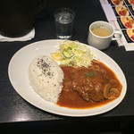精兵衛 - ハンバーグランチ 500円