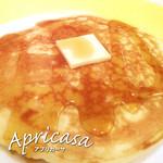 アプリカーサ - オリジナルパンケーキ(ホイップクリーム付)
