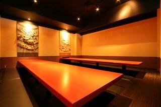個室居酒屋 番屋 蒲田駅前店 - 20名様~30名様用堀炬燵個室。
