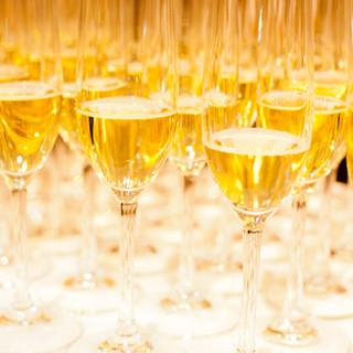 スパークリングワイン飲み放題でワンランク上のパーティーを