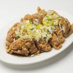 つけ麺 是・空 - 油淋鶏(ユーリンチー)