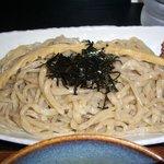 豚そば ぎんや 黒川本店 - つけそばストロング(麺)