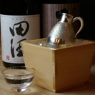 日本酒20種類以上!月替わり限定日本酒。蔵本直送ワイン!焼酎