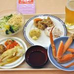 湯の川観光ホテル - 料理写真:夕食(バイキング)