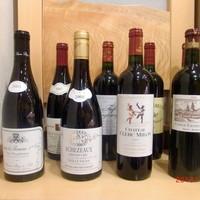 綾 - 常時30種類以上の豊富なグラスワイン