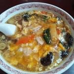 中国料理 羅生門 - 酸辣湯麺の卵とじのような感じ?かな?美味しくて大好きです♪