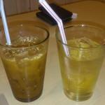 ワイン処 SASAYA - アイスコーヒー、ジンジャーエール