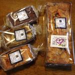 森のボナペティ - 2014.03.20に購入したパウンドケーキ