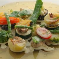 ボングウ・ノウ - 温かい野菜を。カンコワイヨットチーズのフォンデュと