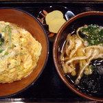 味憩い 甲南そば - OptioA30:親子丼定食