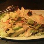 鶏や 梵 - shio(塩)サラダ