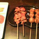 鶏や 梵 - 串焼きコース1・2