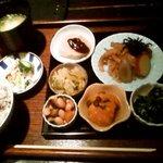 自然のめぐみ料理 豆豆菜菜 - 野菜ランチ1200円