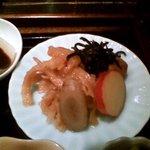 自然のめぐみ料理 豆豆菜菜 - さつま芋煮と切干大根