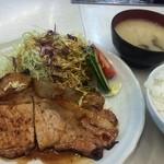 キッチンくりの木 - ロース生姜焼き 780円