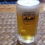 お好み焼てっちゃん - 生ビール