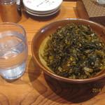 ずんどう屋 - 料理写真:高菜は食べホ