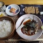 楽阿弥 - ひゅうが飯定食1050円