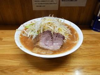 ラーメン二郎 赤羽店 - 大ラーメン(カタメ)